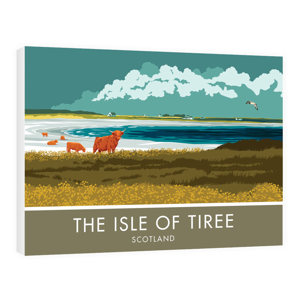 The Isle of Tiree, Scotland 60cm x 80cm Canvas