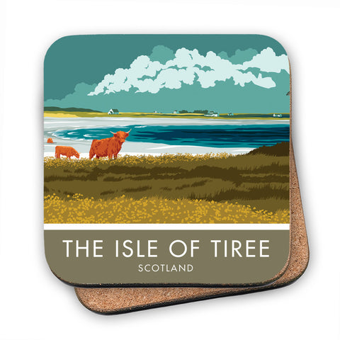 The Isle of Tiree, Scotland MDF Coaster