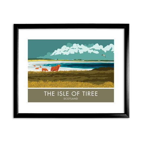 The Isle of Tiree, Scotland 11x14 Framed Print (Black)