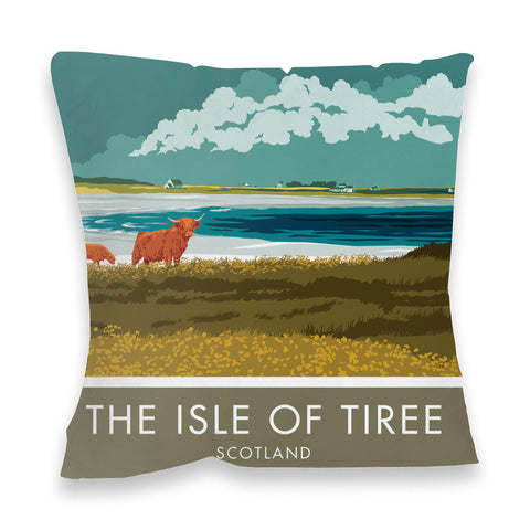 The Isle of Tiree, Scotland Fibre Filled Cushion