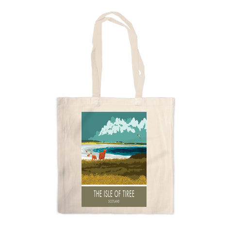The Isle of Tiree, Scotland Canvas Tote Bag