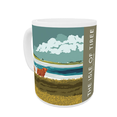 The Isle of Tiree, Scotland Coloured Insert Mug