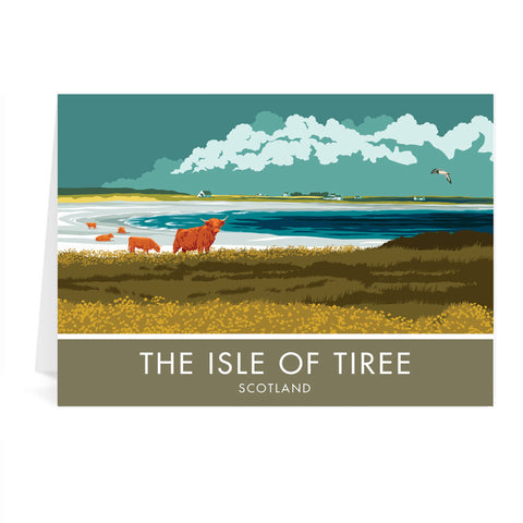 The Isle of Tiree, Scotland Greeting Card 7x5