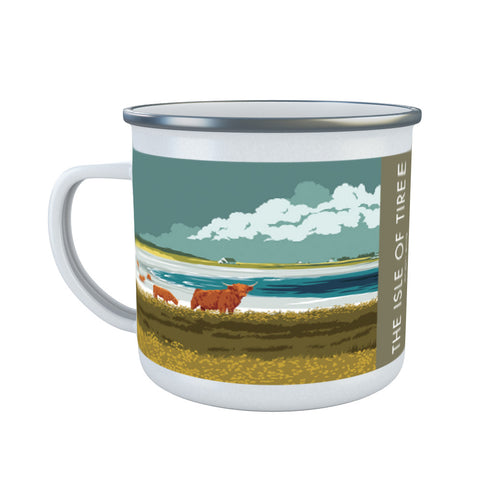 The Isle of Tiree, Scotland Enamel Mug