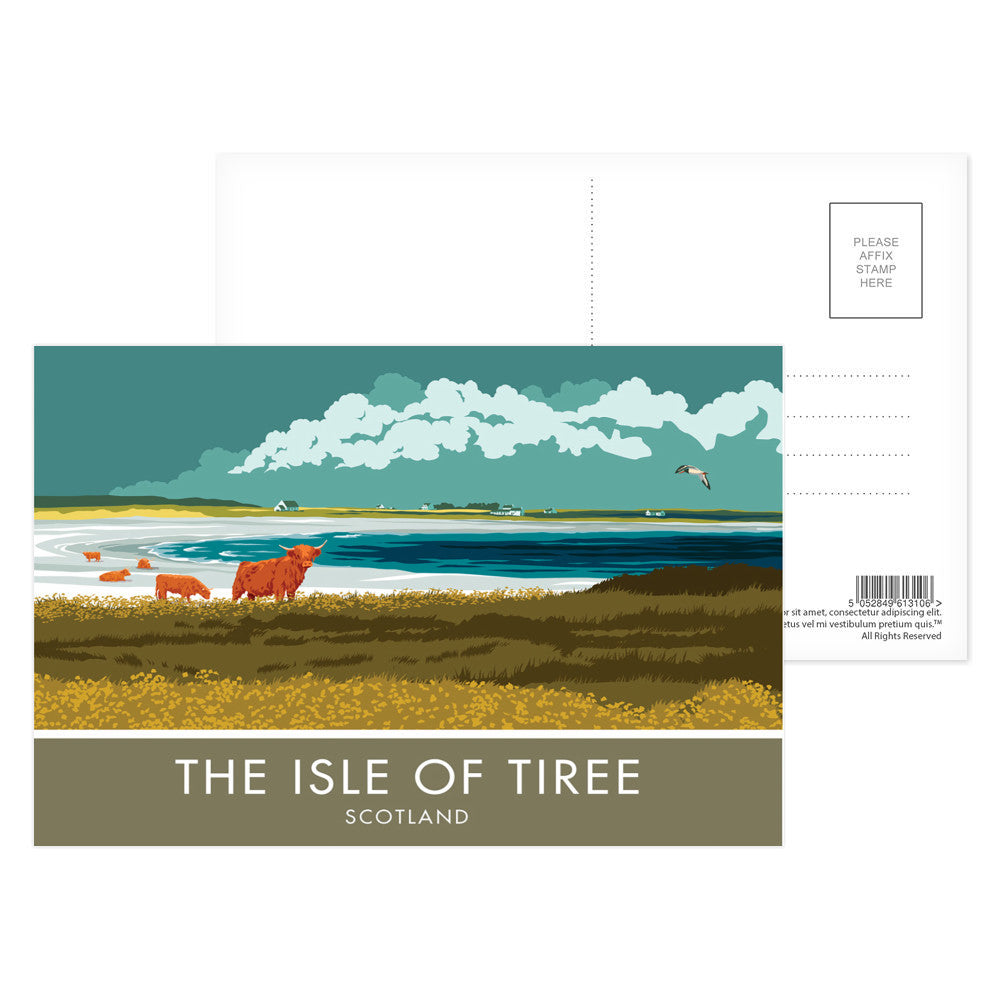 The Isle of Tiree, Scotland Postcard Pack