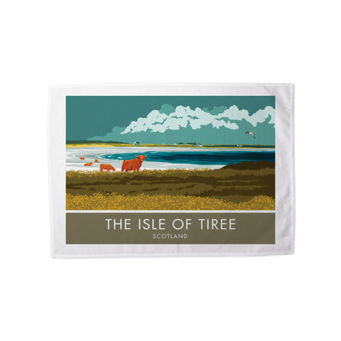 The Isle of Tiree, Scotland Tea Towel