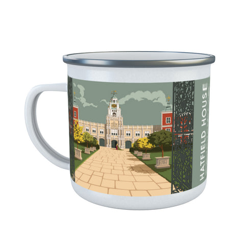 Hatfield House, Hatfield, Hertfordshire Enamel Mug