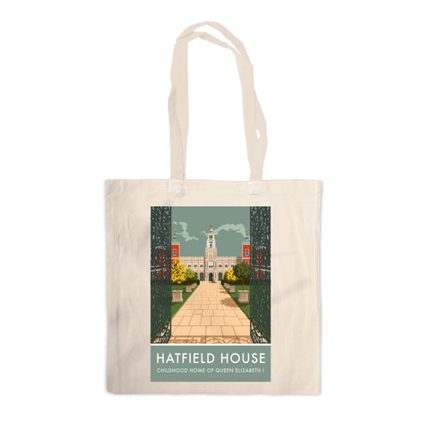 Hatfield House, Hatfield, Hertfordshire Canvas Tote Bag
