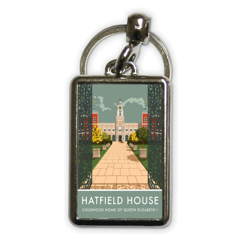 Hatfield House, Hatfield, Hertfordshire Metal Keyring