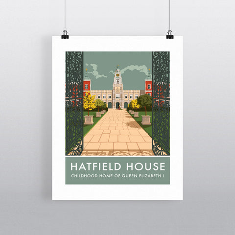 Hatfield House, Hatfield, Hertfordshire 90x120cm Fine Art Print