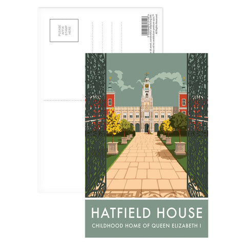 Hatfield House, Hatfield, Hertfordshire Postcard Pack