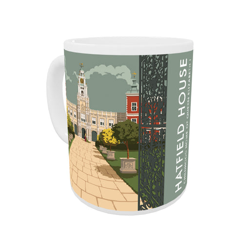 Hatfield House, Hatfield, Hertfordshire Coloured Insert Mug
