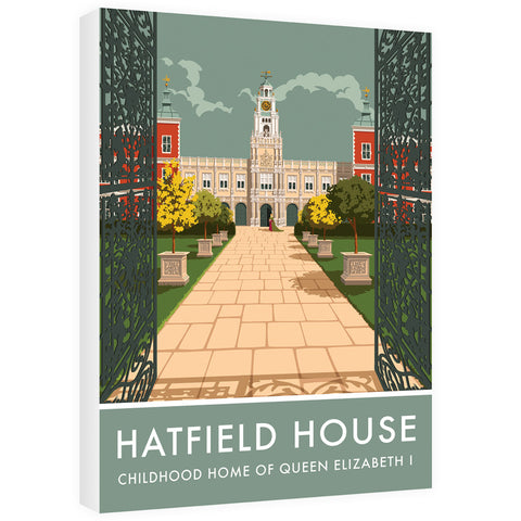 Hatfield House, Hatfield, Hertfordshire 60cm x 80cm Canvas