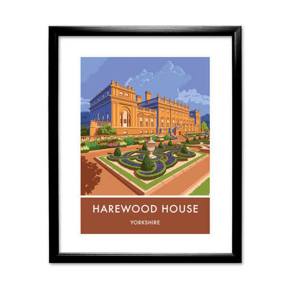 Harewood House, Leeds, Yorkshire 11x14 Framed Print (Black)