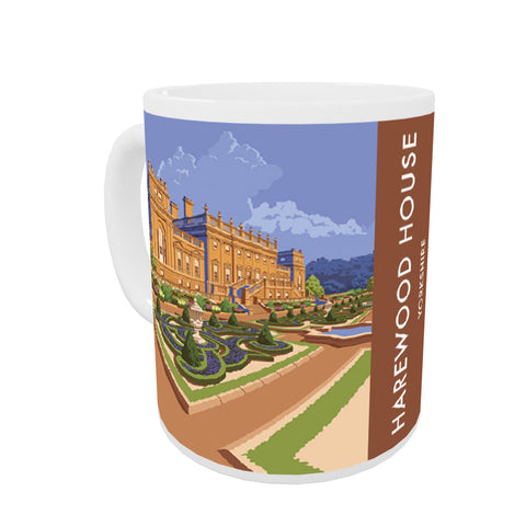 Harewood House, Leeds, Yorkshire Coloured Insert Mug