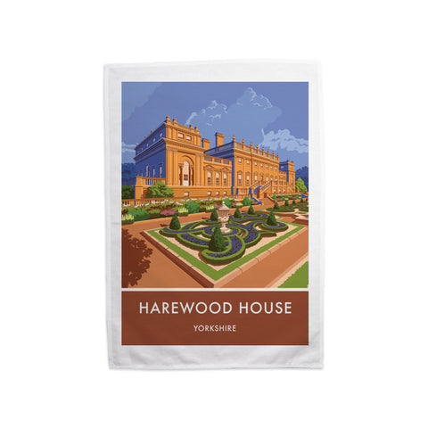 Harewood House, Leeds, Yorkshire Tea Towel