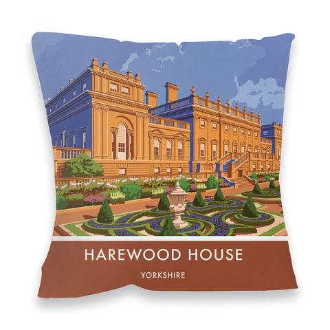 Harewood House, Leeds, Yorkshire Fibre Filled Cushion