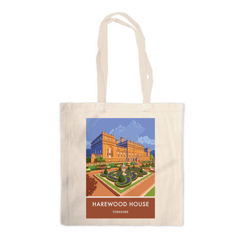 Harewood House, Leeds, Yorkshire Canvas Tote Bag