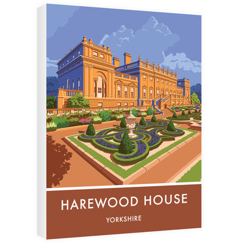 Harewood House, Leeds, Yorkshire 60cm x 80cm Canvas