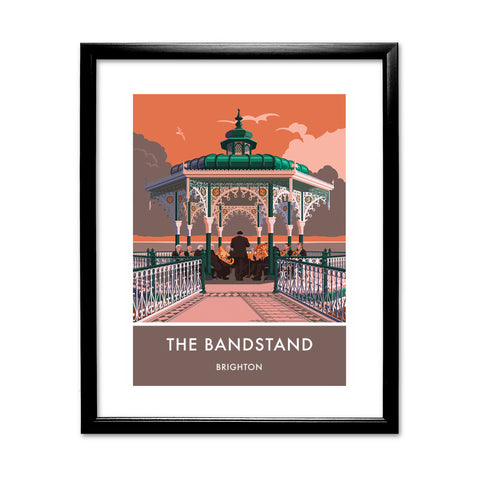 Brighton Bandstand, Brighton, Sussex 11x14 Framed Print (Black)