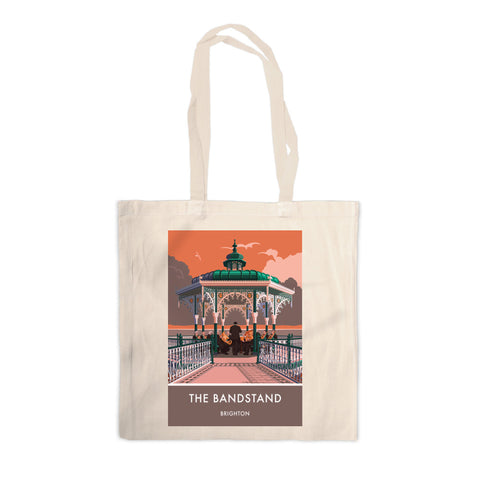 Brighton Bandstand, Brighton, Sussex Canvas Tote Bag