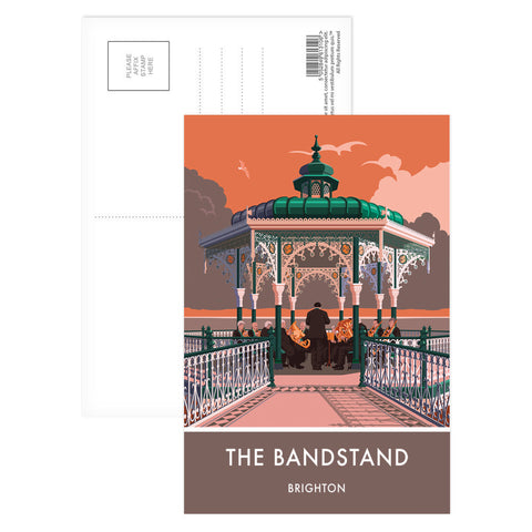 Brighton Bandstand, Brighton, Sussex Postcard Pack