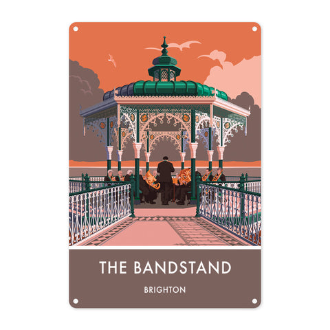 Brighton Bandstand, Brighton, Sussex Metal Sign