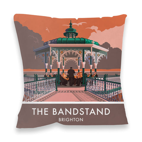 Brighton Bandstand, Brighton, Sussex Fibre Filled Cushion
