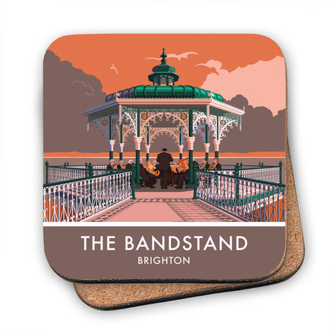 Brighton Bandstand, Brighton, Sussex MDF Coaster