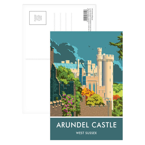 Arundel Castle, Arundel, Sussex Postcard Pack