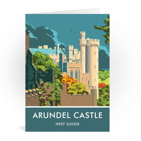 Arundel Castle, Arundel, Sussex Greeting Card 7x5