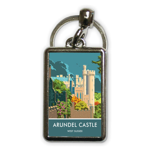 Arundel Castle, Arundel, Sussex Metal Keyring