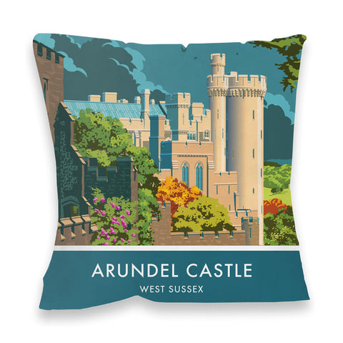 Arundel Castle, Arundel, Sussex Fibre Filled Cushion