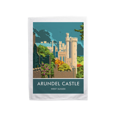 Arundel Castle, Arundel, Sussex Tea Towel
