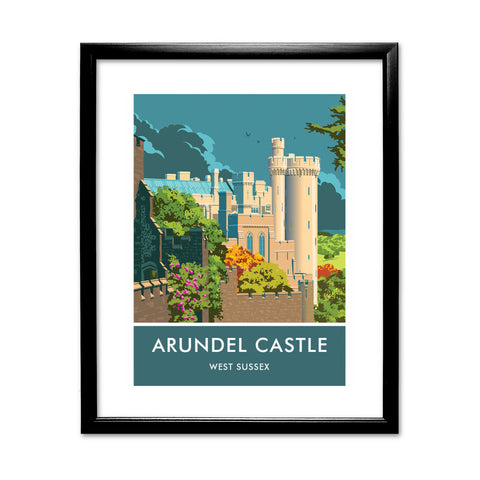 Arundel Castle, Arundel, Sussex 11x14 Framed Print (Black)