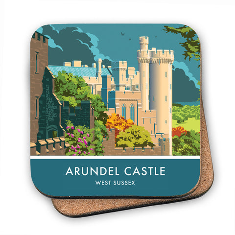 Arundel Castle, Arundel, Sussex MDF Coaster