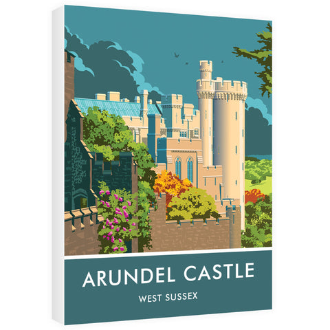 Arundel Castle, Arundel, Sussex 60cm x 80cm Canvas