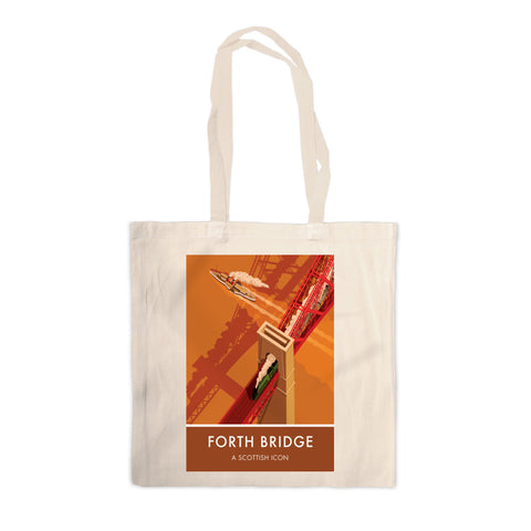 Forth Bridge, Edinburgh Canvas Tote Bag