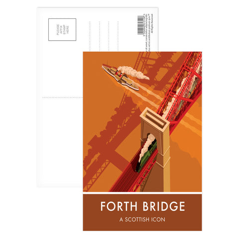 Forth Bridge, Edinburgh Postcard Pack