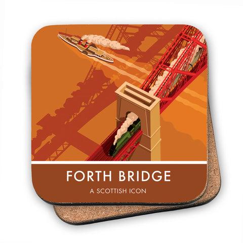 Forth Bridge, Edinburgh MDF Coaster