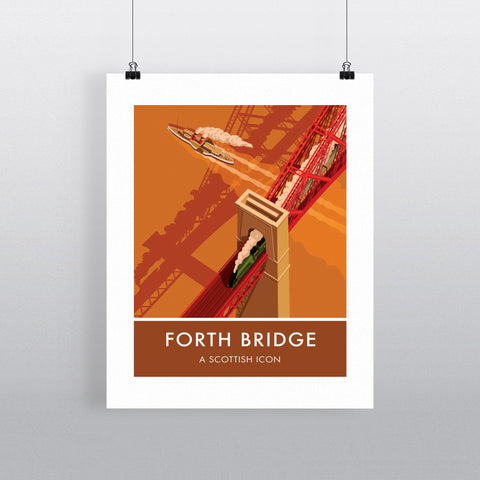 Forth Bridge, Edinburgh 90x120cm Fine Art Print