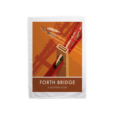 Forth Bridge, Edinburgh Tea Towel