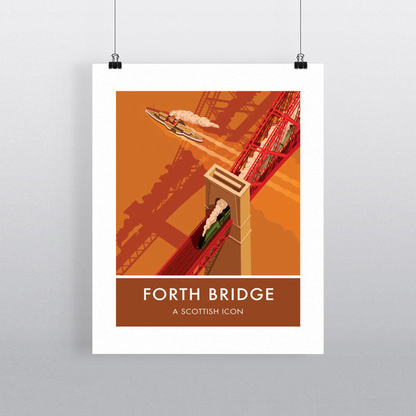 Forth Bridge, Edinburgh 11x14 Print