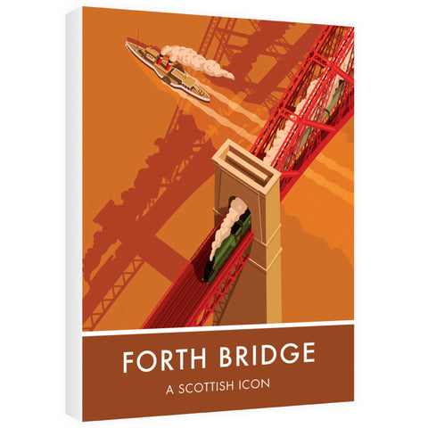 Forth Bridge, Edinburgh 60cm x 80cm Canvas