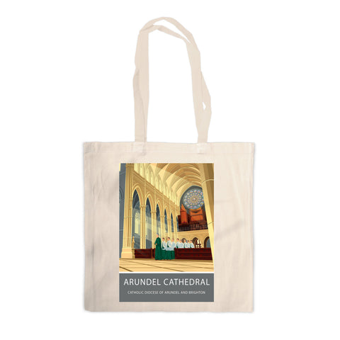 Arundel Cathedral, Arundel, Sussex Canvas Tote Bag