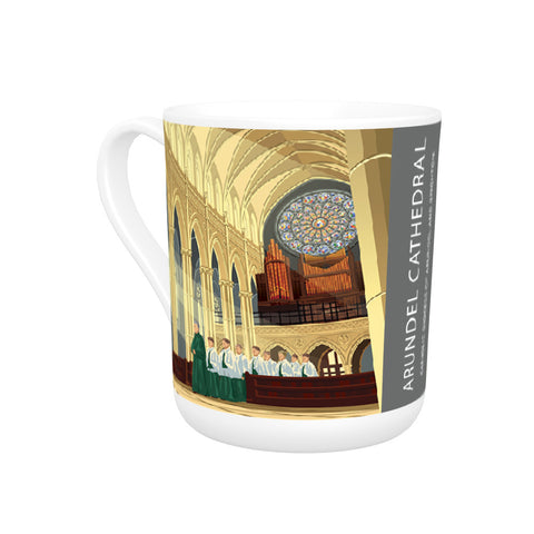 Arundel Cathedral, Arundel, Sussex Bone China Mug