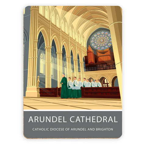 Arundel Cathedral, Arundel, Sussex Placemat