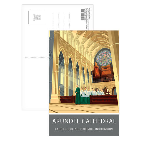 Arundel Cathedral, Arundel, Sussex Postcard Pack