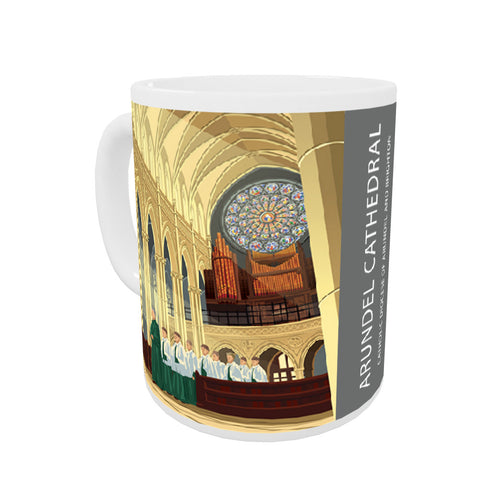 Arundel Cathedral, Arundel, Sussex Mug