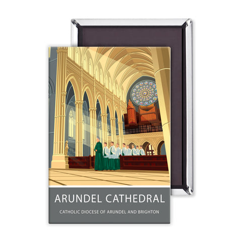 Arundel Cathedral, Arundel, Sussex Magnet